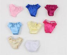 b9a9a18ff2838 Roupa interior para Blyth boneca pequenos acessórios de pano para Chloe  boneca Azone boneca calças calcinhas