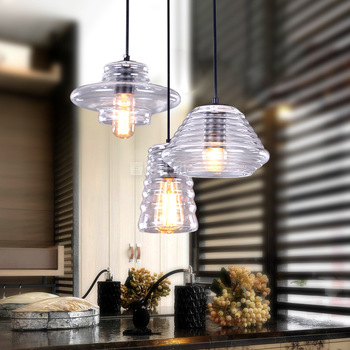 lighting restaurant bar spring American country pendant lamp simple creative bar thread Crystal pendantlights ZL1158
