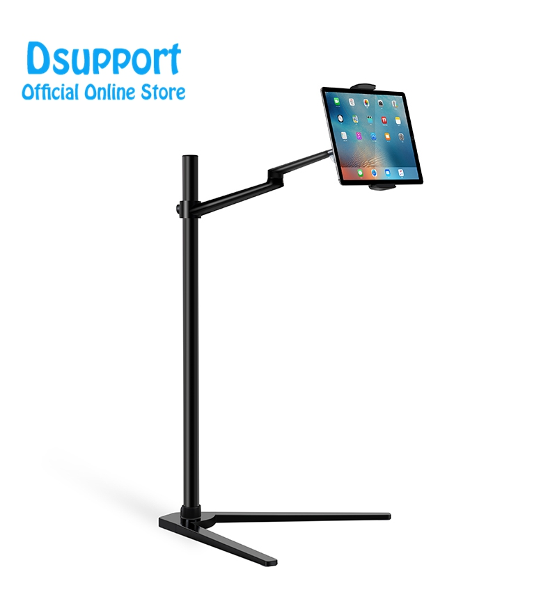 Multifunction Floor Stand for Tablet PC Smartphone Holder Height Angle Adjustable UP 6A