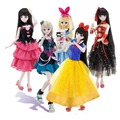 "Free shipping 1/4 45cm 18"" cute Lolita BJD joints doll toys ABS DIY girl dolls toy set birthday gift"
