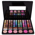 78 Colors Matte Shimmer Warm Professional Eyeshadow Palette Comestic Eye Shadow Makeup Palette With Mirror