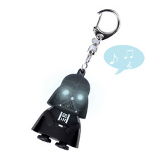 Star Wars Black Knight Darth Vader Stormtrooper Mini LED Light With Sound