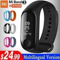 Xiaomi Mi Band 3 Smart Wristband Touch Screen OLED Message Heart Rate TimeFitness Bracelet Smartband