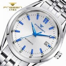 52f6c25aa5f FNGEEN 2018 Masculino Relógio Luminoso Homens Cinta de Aço Inoxidável Relógios  Mecânicos Mens Relógios Top Marca de Luxo Automát.