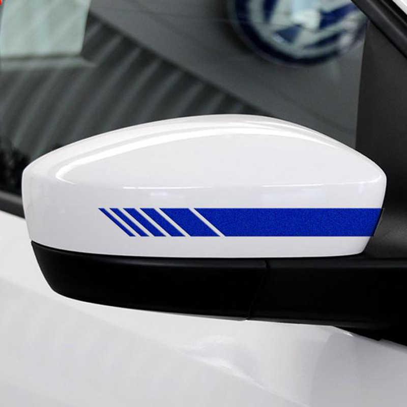 15.3*2cm car shape vinyl DIY sticker rear view mirror side sticker For Toyota Camry Corolla RAV4 Yaris Highlander/Land Cruiser/