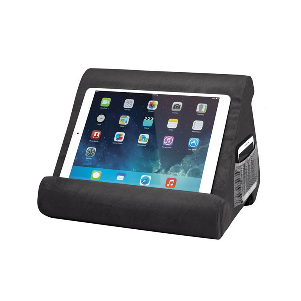 5656f16af56b Multi-Angle Soft Pillow Lap Stand for IPads Stand Tablets EReaders Books  Magazines for Ipad Adjustable Stand for Ipad Holder