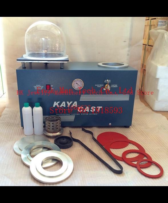 Mini Vacuum Investing & Casting Machine ,Jewelry Lost Wax Cast Combination , Jewelry Machine & Equipment