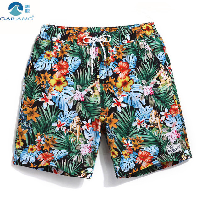f0dd0a521d Gailang Brand Beach Short Men Brands Men's Swimming Suit Swimming Trunks Mens  Swim Shorts Surf Shorts Men GMA747