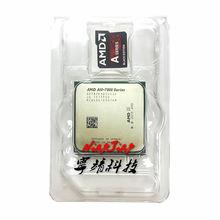 AMD A10 Series A10 7870 K A10 7870 K 3.9 GHz رباعية النواة معالج وحدة المعالجة المركزية AD787KXDI44JC المقبس FM2 +