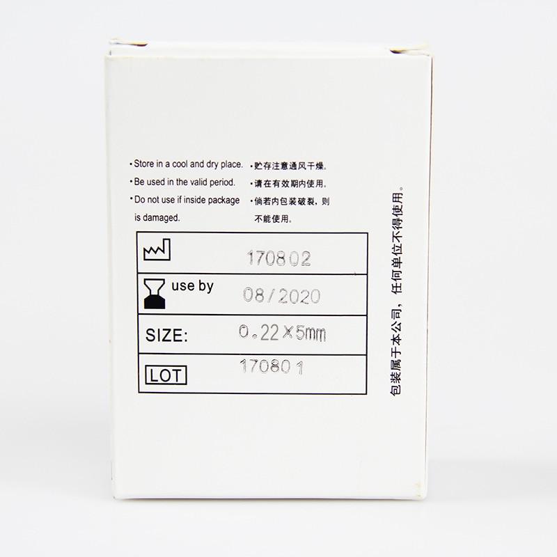 100pcs / box Huanqiu Acupuncture Needle Disposable Needle - Sjukvård - Foto 3
