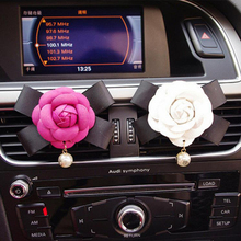 JOORMOM Butterfly-knot Female Car Tuyere Clip Fashionable Individual Aromatherapy Lovely Interior  car decoration