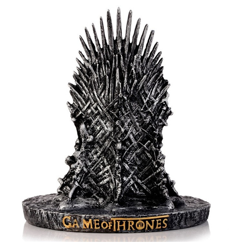 100% Quality Dropshipping New The Iron Throne Game Of Thrones Action Figure Toys Resin Desk Decor Gift For Children Home Decor The Latest Fashion Self Defense Supplies