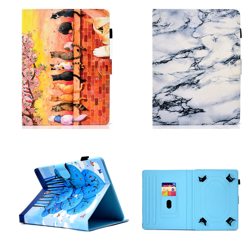 Galleria fotografica Fashion PU Leather 8.0 inch Universal Case for Lenovo Tab 3 8 TB3 850F/TB3-850M Cover For Tab 2 A8-50 A8-50F A8-50LC 8