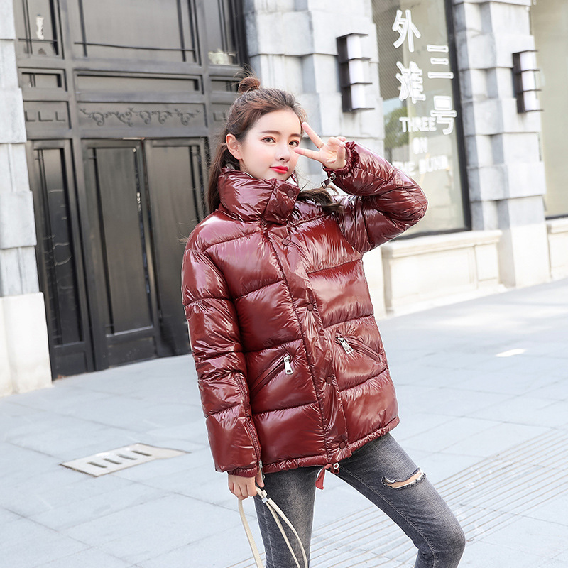 Winter Outerwear Jacket Thick Women Warm Padded Jackets Female burgundy red Black Arrival Parka New Fashion purple Loose Cotton Coats Down 0wYqtxOzPE