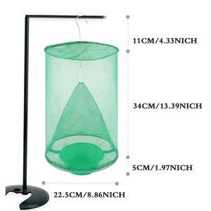Image 2 - 2 قطعة الصيف الساخن معلق flyالماسك في الهواء الطلق للطي عالية الكفاءة القضاء على الذباب قفص صديقة للبيئة غير سامة.