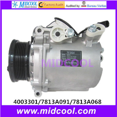 HIGH QUALITY AUTO AC COMPRESSOR   MSC90CAS   FOR  Mitsubishi  4003301  7813A091  7813A068