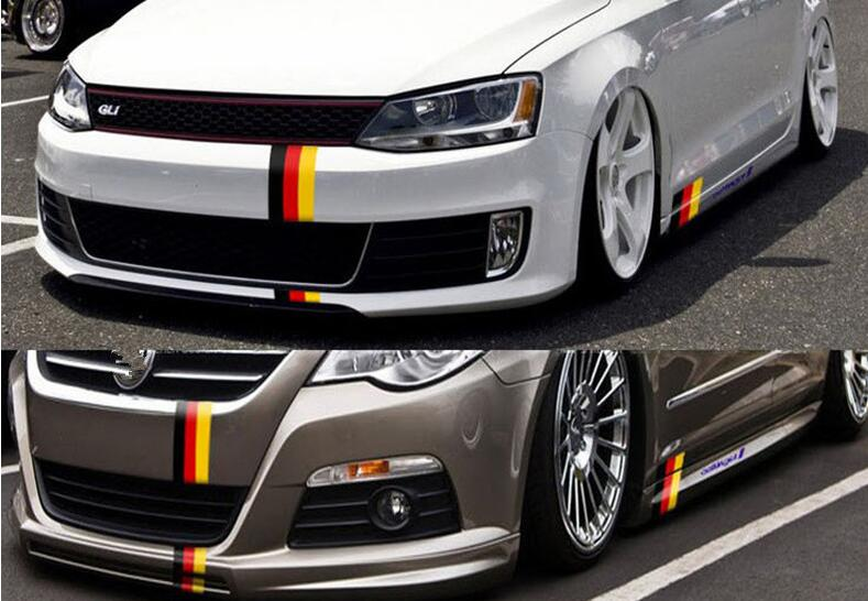 1M fashionable Car personality stripe sticker. for AUDI a1 a3 a4L a4 a5 a6 b8 c5 c6 b7 a6L a7 a8L S5 S a8 S8 Q3 Q5 Q7 SQ5 Q1