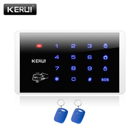 New Hot KERUI K16 RFID Touch Keypad For Wireless PSTN GSM Alarm Systems Burglar Access Control