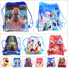 Backpack 1pcs Disney theme Frozen Princess Avengers School font b Bags b font font b Drawstring