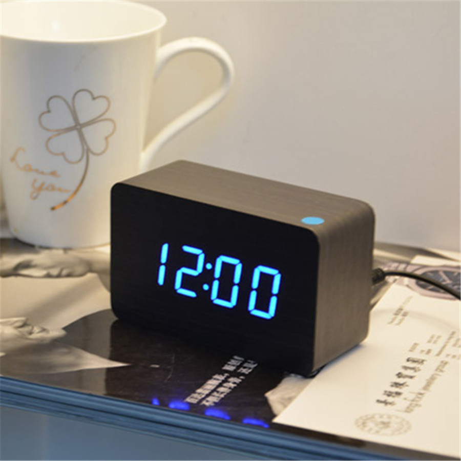 bedroom alarm clock home decoration bedroom desktop despertador digital clock 10273