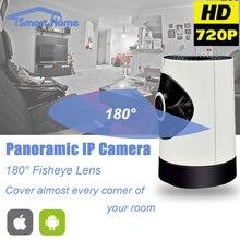 Fisheye Ip-камера wi-fi 180 Градусов Беспроводной WI-FI Onvif Панорамный Камара Ночного Видения Безопасности CCTV Камеры 360 Вид P2P Телекамера
