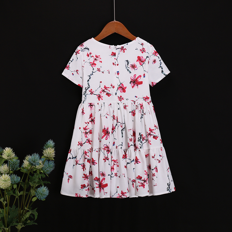 b5459dc1c2 Family look outfit cotton flower girl fashion beach dress kids clothes  matching mother daughter clothing mom baby Summer dresses - aliexpress.com  - imall. ...
