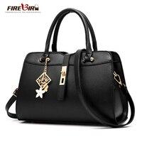 2017 Women Leather Handbags Shoulder Bag Good Quality Women Messenger Bags New Promotions Boston Style Female