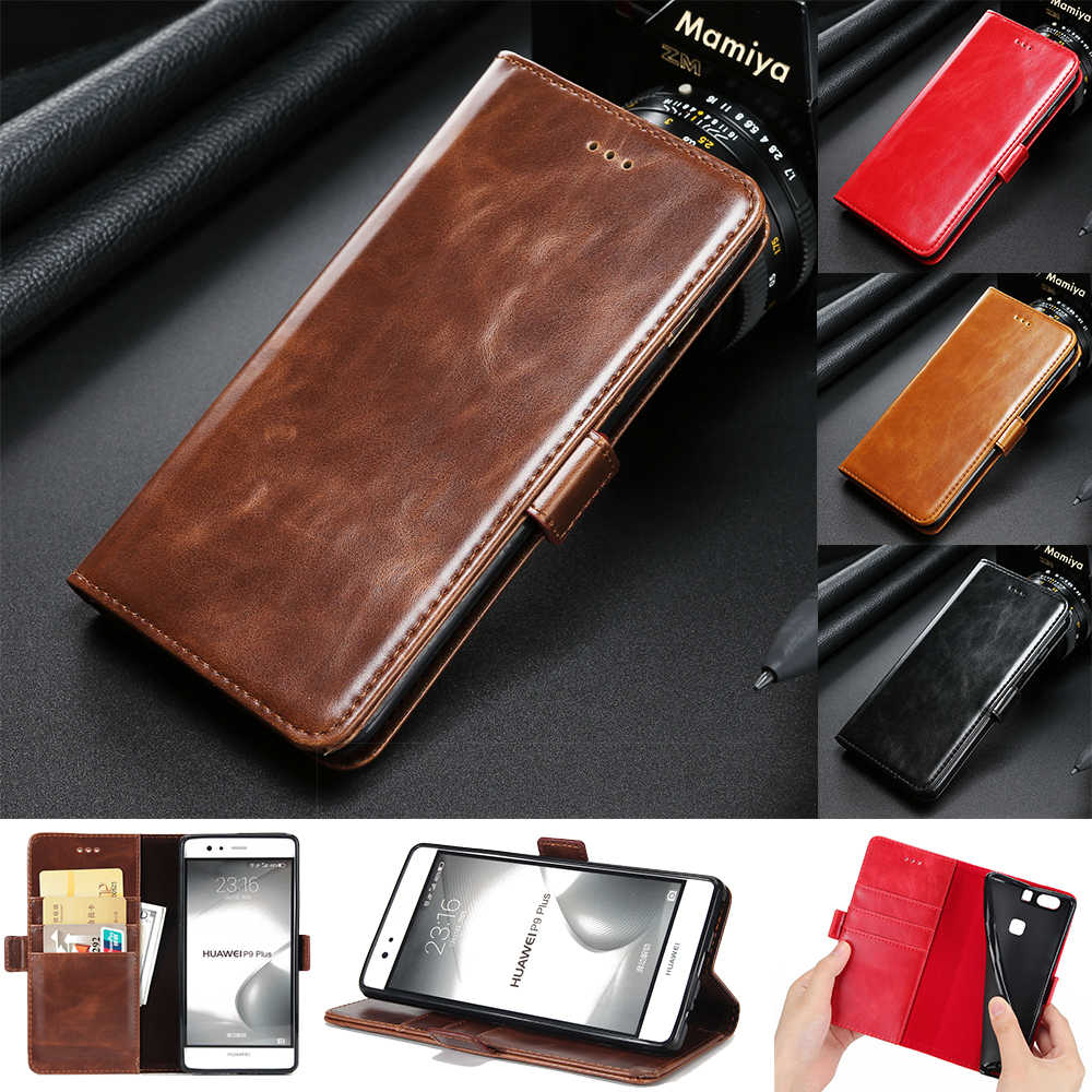 Leather Case for Huawei P9 P10 Plus P8 Lite 2017 Mate 8 9 Pro Luxury TPU Flip Cover for Huawei Y3 Y5 Y6 II Honor 8 9 V9 V8 Coque