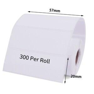 Image 3 - Adesivi per etichette termiche direttamente, 10 rotoli, nucleo 13mm, diametro esterno 40MM, adatto per etichette termiche Bluetooth 40x30 57x40 57x30 57x20