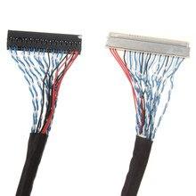 Жк-панели lvds вперед контроллера дисплея отверстия кабель см шт. для