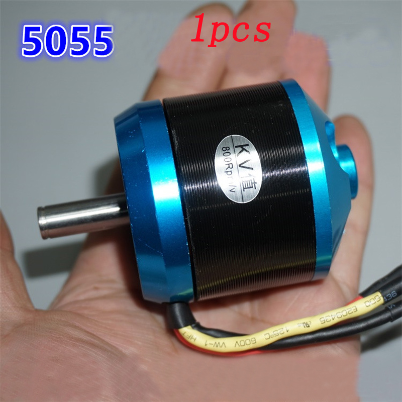 1pcs KV700 Outrunner Brushless Airplane Motor <font><b>5055</b></font> Outer-rotor High Speed 8mm Shaft Prop Clip Bullet fr RC Aircraft image