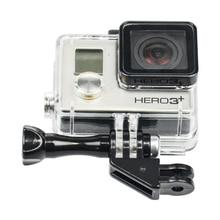 Для GoPro Hero 5 Сессии/4S/4/3 +/3/2/SJ 5000 6000/Сяо Yi Универсальный 90 Градусов Направление Угловой Адаптер Крепление + Винт с Накатанной Головкой