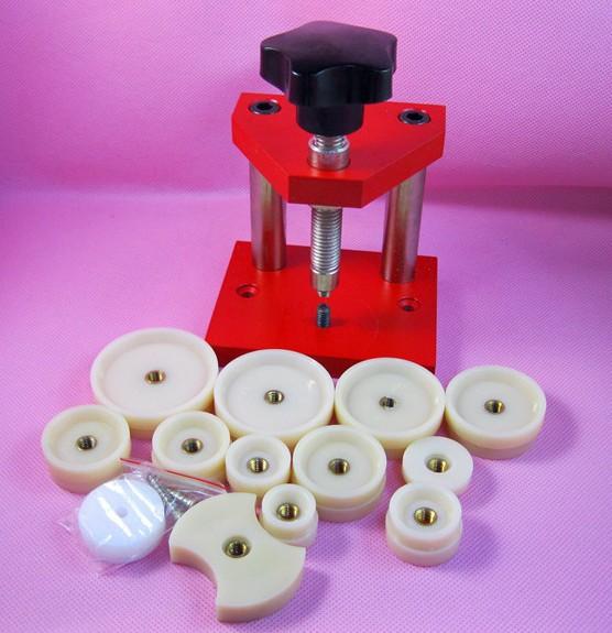Wholesale 1set Watch repair tools Watch Repair Tool case opener watch crystal machine tools with 12 accessories 103 21
