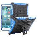 Для iPad Air Противоскользящие Tablet Case Прочная Резиновая Броня Жесткий PC + TPU Гибридный Kickstand Обложка Таблетки Чехлы Для Apple iPad 5