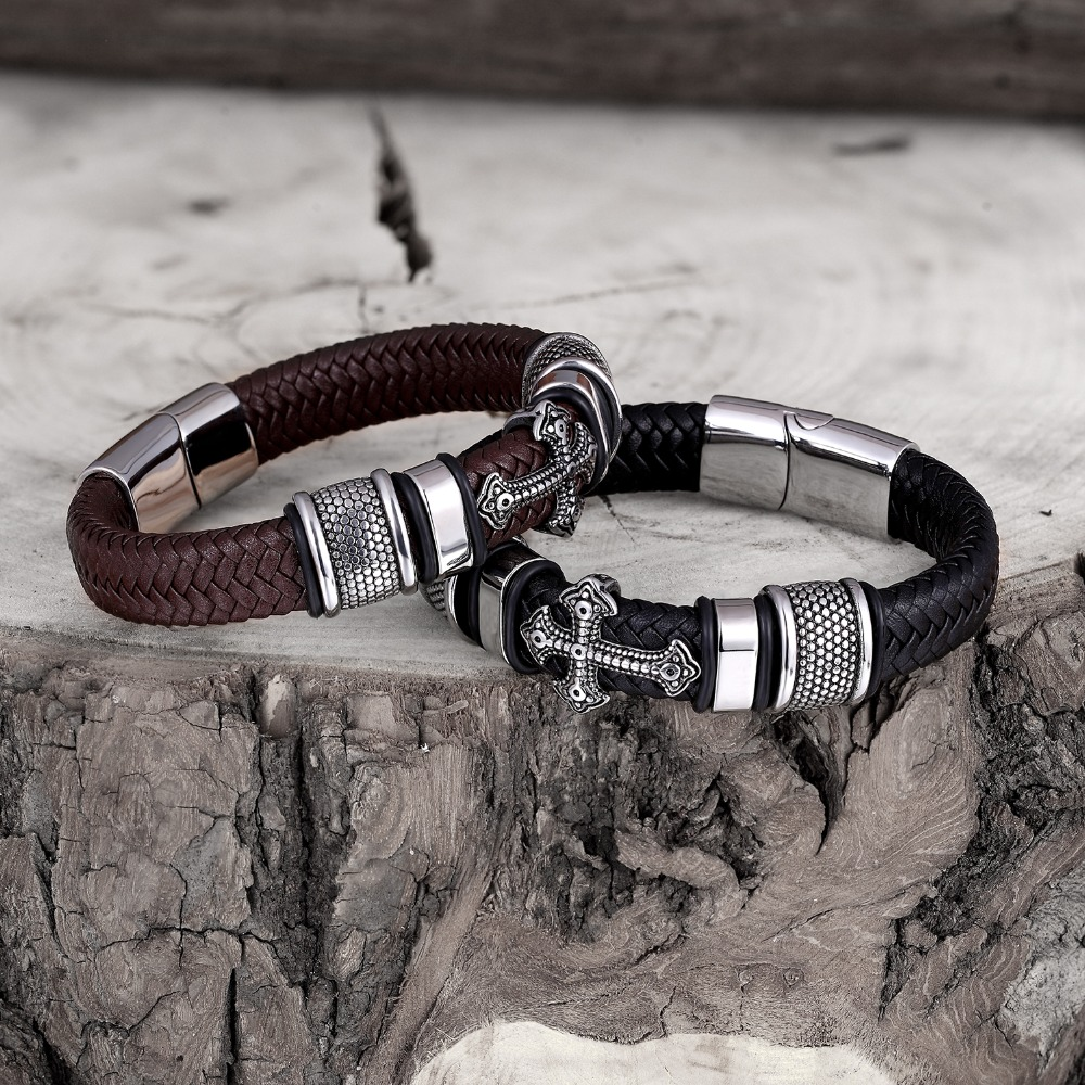 Multi-layer Leather Handmade Bracelet Bangles & Bracelets