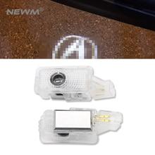 2 шт. двери автомобиля светодио дный Добро пожаловать лазерный проектор Логотип Тень двери свет Шаг Логотип лампа для Honda Acura MDX/RLX /TL/TLX/ZDX