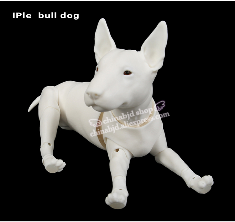 BJD Dog Pet 1/6 BJD Doll SD Joint Doll Oueneifs Educational Toys Luodoll