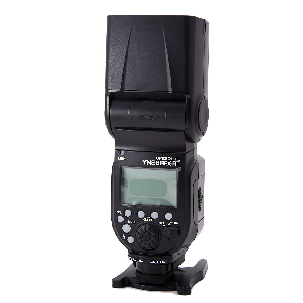 YONGNUO YN968EX-RT TTL Wireless Flash Speedlite with LED Light Compatible with YN-E3-RT\YN600EX-RT for Canon 600EX-RT\ST-E3-RT rt