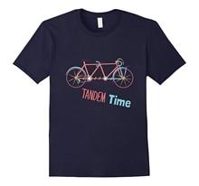 new men shirt Is My Bike Ok City Retro Cycling Tandem Bicycle T Shirt