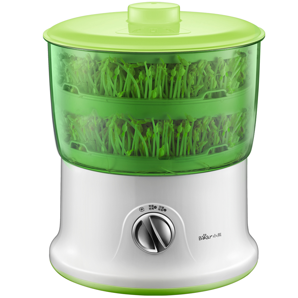 220V Bean Sprout Machine Large Capacity Thermostat Green Seed Automatic Intelligent Bean Sprout Maker Healthy Food Machine salter air fryer home high capacity multifunction no smoke chicken wings fries machine intelligent electric fryer