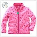 Nuevo 2016 de Primavera y Otoño de Los Niños chaquetas abrigos niños bebés niñas chaqueta de lana lindo ropa niños niñas niños suéter de la manera chaqueta
