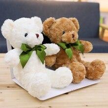1pc 38cm/50cm Patch Bear Dolls Teddy Bear Soft Toy Bear Wedding Gifts Baby Toy Birthday gift  Soft toys цена
