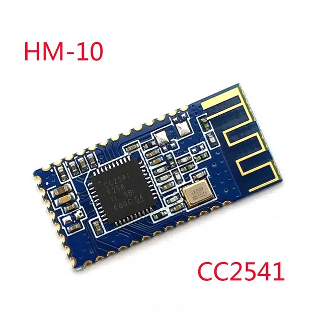 HM-10 from HuaMao Bluetooth 4.0 Module Transparent Serial Port BASE PLATE NOT INCLUDED HM-10 core chip CC2540/2541
