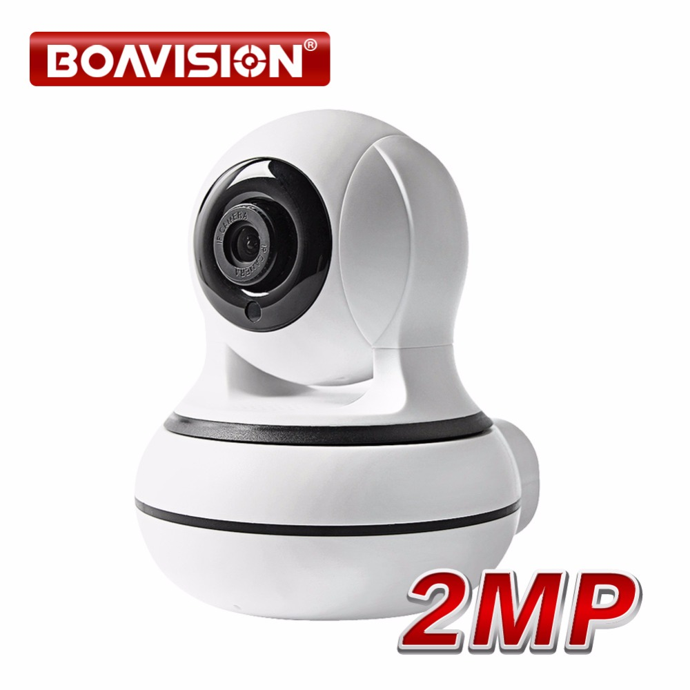 BOAVISION HD 1080P 2MP Smart WIFI PTZ IP Camera PTZ Night Vision Two Way Audio CCTV Wireless Surveillance Camera ONVIF P2P VIEW