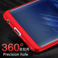 Samsung S6 S7 Edge S8 Plus Cover for Samsung Galaxy J3 J5 2016 Case Coque With Glass
