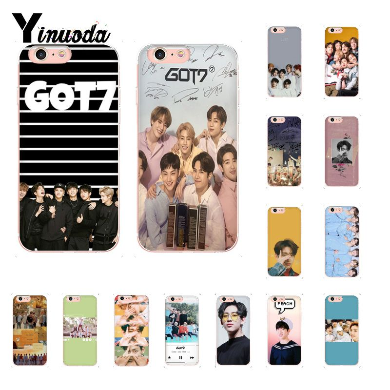 Phone Bags & Cases Honest Yinuoda Got7 Jackson Jinyoung Got 7 Novelty Fundas Phone Case For Iphone 8 7 6 6s Plus 5 5s Se Xr X Xs Max 10 Coque Shell To Win A High Admiration And Is Widely Trusted At Home And Abroad. Half-wrapped Case