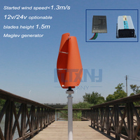 1 3m Started Up Maglev Wind Generator 600w 12 24v Vertical Axis Wind Turbine With 600w