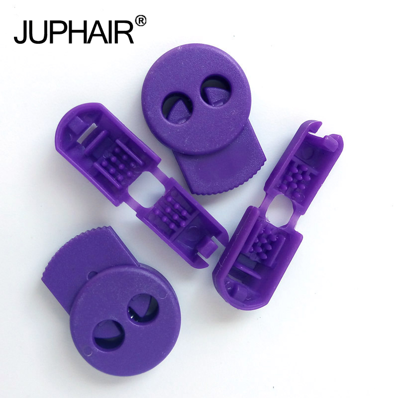 N 1-50 Sets Purple Magnetic Elastic Shoes Buckles Decorative Buckles Child Adult Closures No-tie Shoelaces Never Tie Lace Again n 1 50 sets orange yellow buckle elastic shoes buckles hole plastic stopper toggle clip apparel shoelaces sportswear accessorie