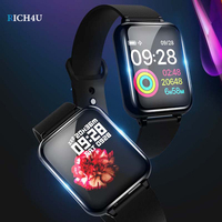 Smart Wristbands 1.3 IPS Heart Rate Monitor Blood Pressure B57 Fitness Bracelet for Huawei Samsung xiaomi phone Smart Watch