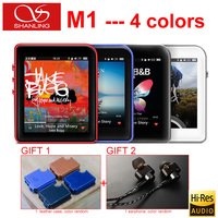 New Original Shanling M1 Portable Bluetooth DAP DSD Lossless HIFI Audio Music Player Mini Movement MP3 Player + Leather Case